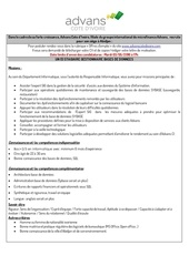6 doc offre stagiaire gestionnaire base donnees v0 3