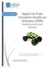 rapport de projet cp80 rock crawler