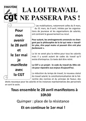 tract pour le 28 avril 2016