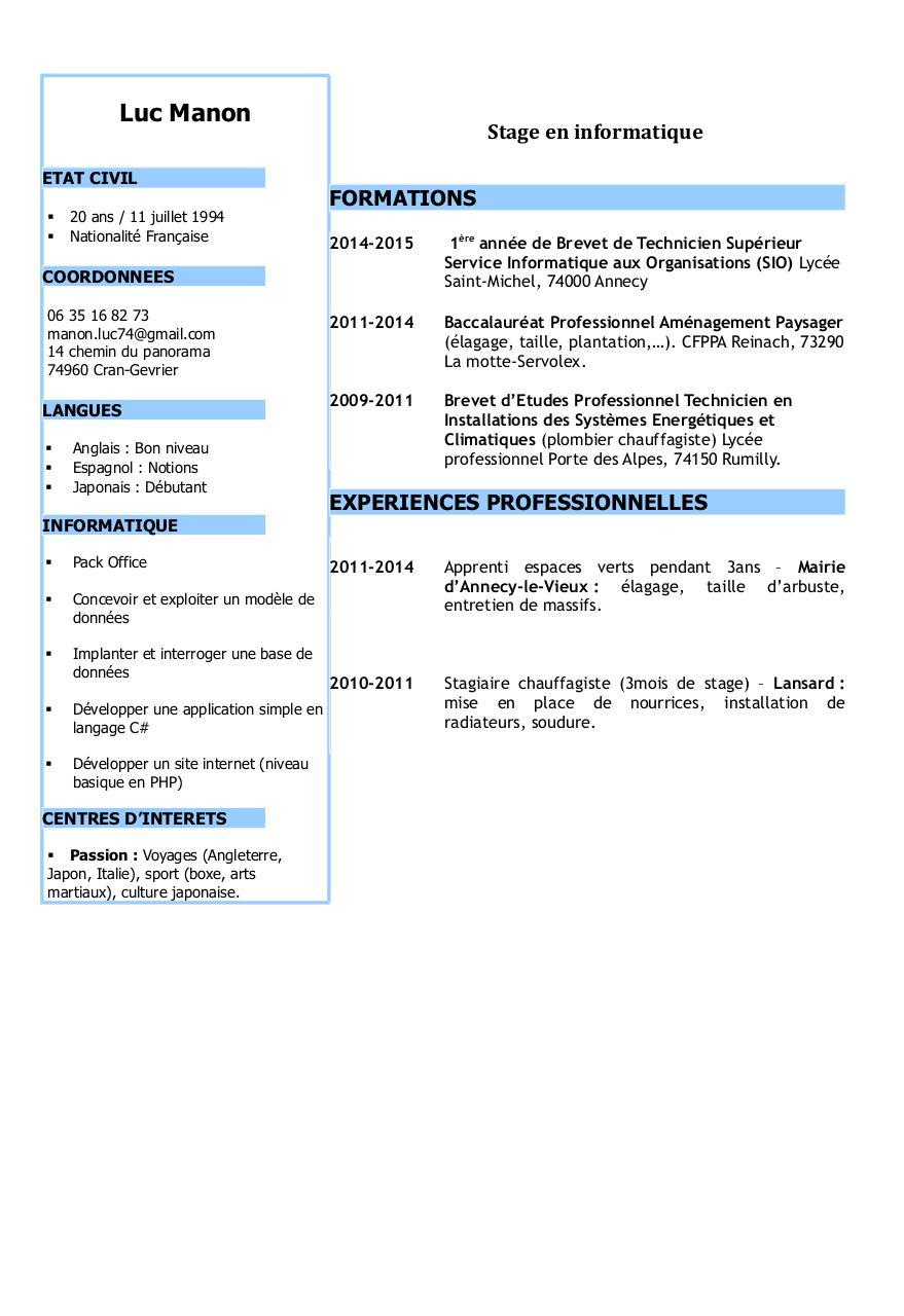 Etat Civil Par Gjaquemet Cv Luc Manon Pdf Fichier Pdf
