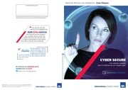cyber secure depliant commercial