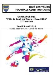 dossier tournoi u11 challenge 2eme edition jfct 2016