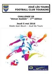 dossier tournoi u9 challenge atman saddek jfct 2016