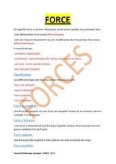 Fichier PDF force