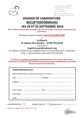 performeurs dossier candidature fdlr11 2016