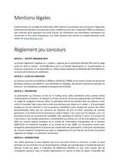 reglement mentions reglement bio attitude