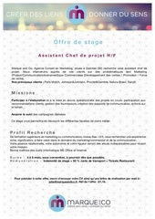 offre de stage marque and co