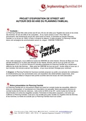 cahier des charges street art pf84