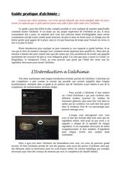 guide pratique d alchimie 2