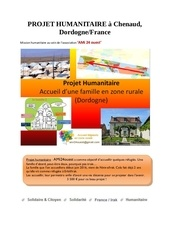 Fichier PDF projet humanitaire a chenaud