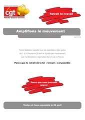tract appel 28 avril 2