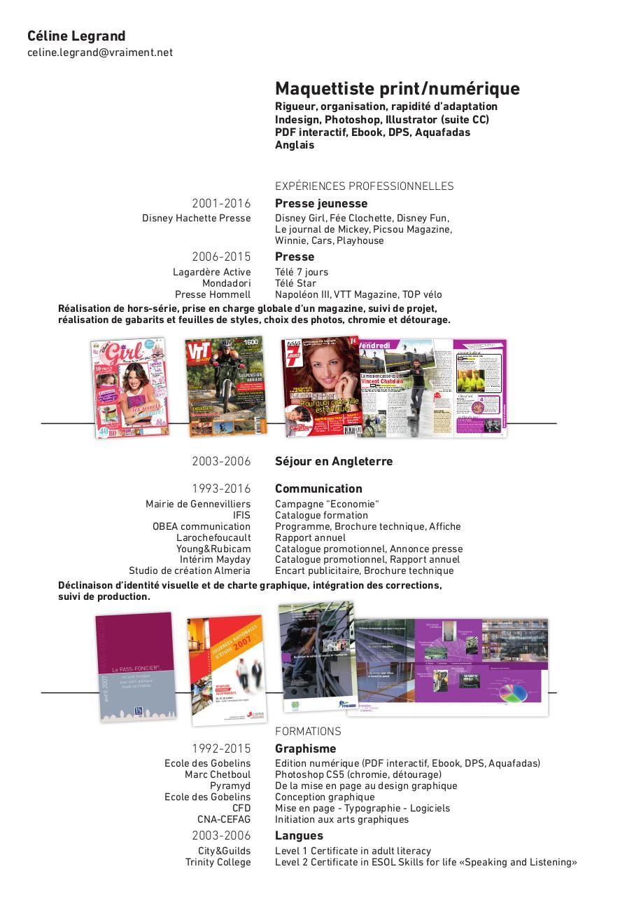 cv celine legrand indd - cv celine legrand pdf