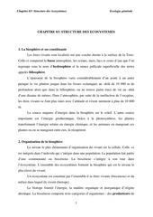 chapitre 03 structure des ecosystemes