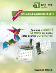 liste de prix calendriers 2017 lr