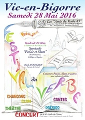 affiche festival du verbe