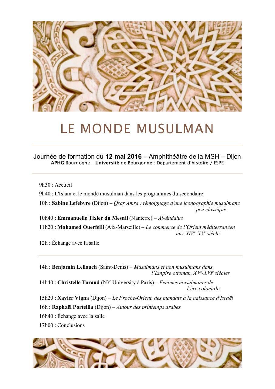 louve musulmane pdf