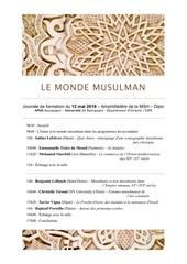 Fichier PDF le monde musulman