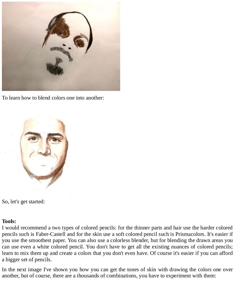 How to draw realistic portraits pdf page 3 55