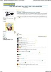 Fichier PDF kyogamer en featuring pour les 15 ans de gamekult