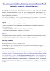 Fichier PDF les astuces pour maetriser la grh
