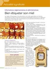 bien etiqueter son miel