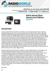 gopro suppliers uk