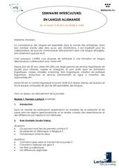 invitation seminaire interculturel 10 mai 2016