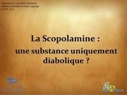diapo scopolamine