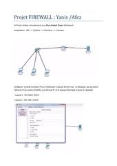 projet firewall
