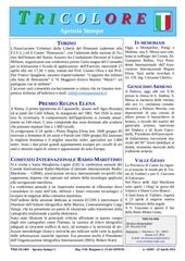tricolore agenzia stampa n16004 220416 22 aprile