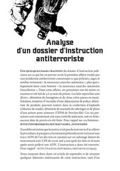 analyse d un dossier d instruction antiterroriste
