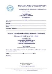 formulaire d inscription journee retraite 2016
