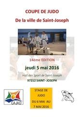 coupe de judo de la ville de saint joseph 2016