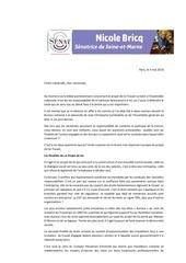 Fichier PDF courrier lettre aux militants 77