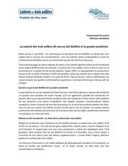 Fichier PDF lait diafiltre et poudre proteinee mai 2016