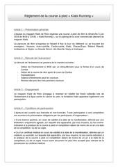reglement kiabi running 05 06 2016