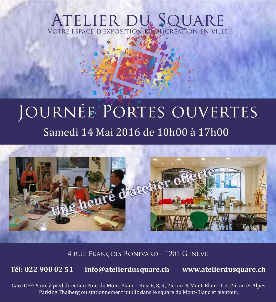 Atelier du square espace d 39 exposition et de cr ation - Atelier chardon savard portes ouvertes ...