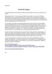 Fichier PDF loterie target