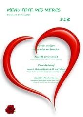 Fichier PDF menu fete des meres