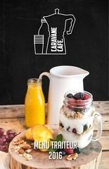 caravane cafe menu traiteur 2016