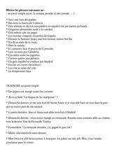 Fichier PDF passe simple
