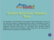 everest base camp trekking trips