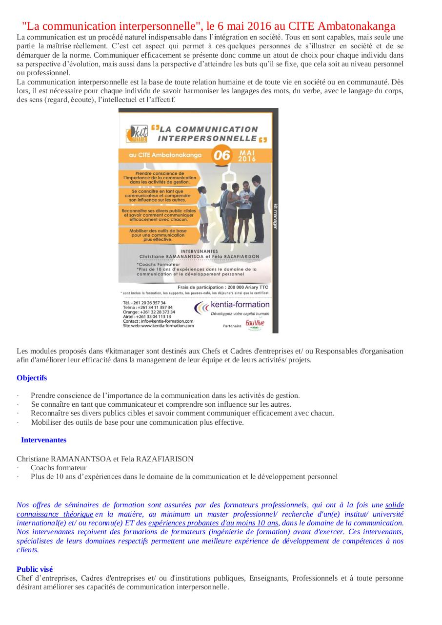 Aperçu du document La communication interpersonnelle.pdf - page 1/2