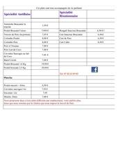 tarif facebook