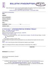 Fichier PDF bulletin d inscription reiki niveau 2 mayotte septembre 2016