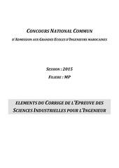 cnc2015 corrig