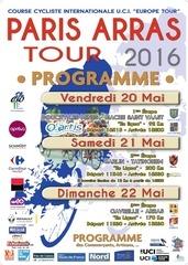 paris arras tour 2016 programme