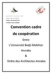 convention universite ordre des architectes