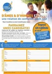 Fichier PDF flyer candidat