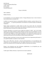 lettre motivation clinique veterinaire 1